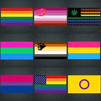 Window Sticker Rainbow Stickers Label Gay LGBT Pride Car Decal NHS Key Workers