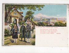 Gruss Aus Dem Altenburger Lande Vintage U/B Postcard Germany 398a