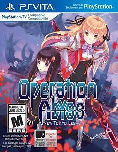 Operation Abyss New Tokyo Legacy - PlayStation Vita (PSVita) - Brand New Sealed
