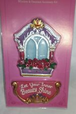 Mini Fairy Garden ~ The Magical Door - Fairy Princess Window 2Pc Set ~ New