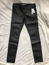 NWT Rich & Skinny Coated Grey Denim Skinny Jeans sz 26