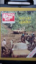 AUTOSPRINT 1974 n.16  East African Safari  No manifesto