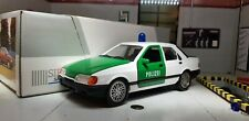 1:24 Model Ford Sierra Sapphire Ghia Police Car Schabak 2.0i 1:25 New Boxed Rare