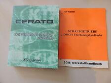 Werkstatthandbuch Ergänzung KIA Cerato (1.6L Diesel) Modelljahr 2006