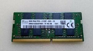 8GB (1x8GB) SK Hynix HMA41GS6AFR8N PC4-2133P Laptop RAM
