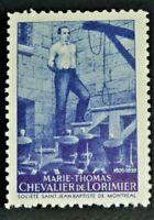 Old Societe Saint Jean Baptiste Purple MARIE THOMAS (GUM) Q.C.Canada F/VF SSJB