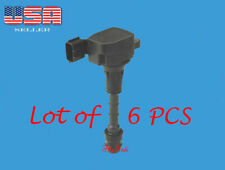6 Ignition Coil For 03-06 Nissan 350Z Infiniti 03-08 FX35 03-07 G35 06-08 M35