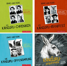 18 CDs * MARC-UWE KLING - LIVE UNGEKÜRZT  4 KÄNGURU HÖRBÜCHER IM SET # NEU OVP !