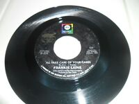 "Frankie Laine I'll Take Care Of Your Cares c/w Making Memories 7"" Vinyl ABC 1231"