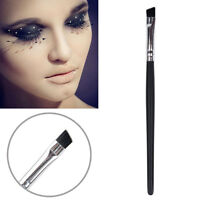 Pro Angle Cosmetic Oblique Eyebrow Eyeliner/Lip Black Brush Beauty Makeup Tool