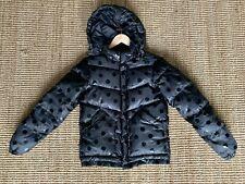 Gorman Black Spot Puffer Jacket - Size 6 - EUC