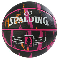 Spalding NBA Marble 4Her Basketball Colour Infused Outdoor Durbable Rubber Cover