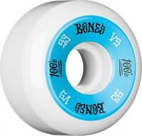 Bones Skateboard Wheels 53mm Wheels, 100'S #1 V5 - Blue