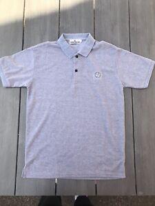 STONE ISLAND Polo Shirt - Grey - See Sizing