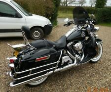 "Harley Davidson Road King DARK tint windshield OEM height 19"" Lexan polycarb"