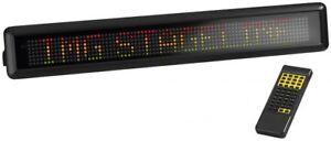 Monacor PML 70 Col - LED-Message-Laufschrift