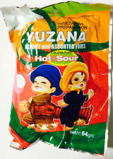 Pack of 10 Myanmar YUZANA Brand Pickled Tea (LaPhet) - with Spicy Fries