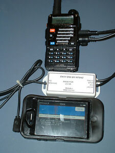 """""""EASY DIGI™""""  UV-5R INTERFACE for IPhone/IPad/IPod Touch"""