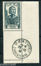 FRANCE 1946, timbre 765, VILLON, OBLITERE 1° JOUR d' EMISSION, CELEBRITES