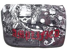 NEW UNISEX AMPLIFIED SAINTS & SINNERS CANVAS SATCHEL OVERBODY MESSENGER ROCK BAG