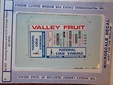Microscale Decal N  #60-807 Packing House & Cold Storage Signs #2, (1970+) Packi
