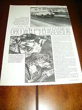 1973 PONTIAC GTO 455  ***ORIGINAL 1992 ARTICLE***