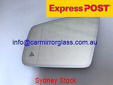LEFT PASSENGER MIRROR GLASS MERCEDES C180 C200 C220 C230 C280 C320 C35 2009-2014
