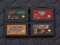 Lot Nintendo Game Boy Advance GBA Games Tony Hawk's/Kelly Slater+ Pro Skaters +