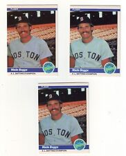 1984 Fleer Wade Boggs #630 AL Batting Champion - 3 Card Lot - Boston Red Sox
