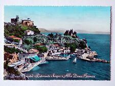 TRIESTE DUINO Sistiana ristorante bagno DAMA BIANCA vecchia cartolina 11