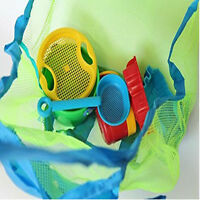 Extra Large Family Mesh Kids Sea Beach Bag Toys Towels Storage Sand Away best