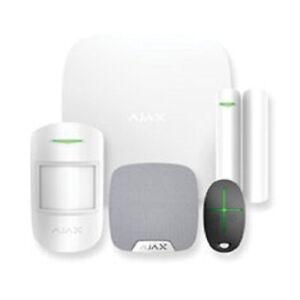 AJAX Alarm System Starter Kit 2, Hub, sensors, siren, remote