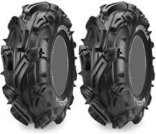 Pair 2 Maxxis Mudzilla 25x10-12 ATV Tire Set 25x10x12 25-10-12