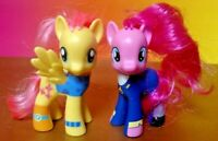 "My Little Pony Brushable Wonderbolts 2-pack Fluttershy Pinkie 3"" Figure FIM G4"