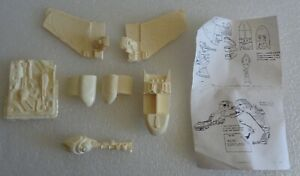 "STAR TREK KLINGON BIRD OF PREY B'REL CLASS SOLID RESIN MODEL KIT 9"" LONG"
