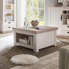 Couchtisch Florenz Beistelltisch Wohnzimmertisch Tisch in Oslo Pinie weiß 86