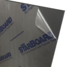 Black King Starboard HDPE Polyethylene Plastic Sheet 3/8