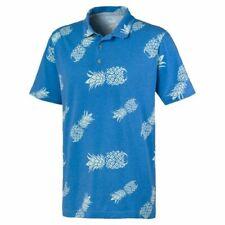 Puma Golf 2020 Sweetness #SB2K Polo Shirt COLOR: Ibiza Blue SIZE: Large (L)