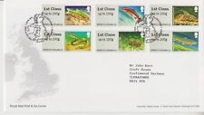TALLENTS HOUSE PMK GB FDC COVER 2013 Freshwater Life 3rd Series Rivers