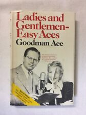 Ladies and Gentlemen-Easy Aces by Goodman Ace 1970 (HC)-Fair 1st Edition