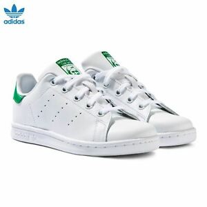 Men's Adidas Stan Smith Trainers Classic Sneakers Shoes White