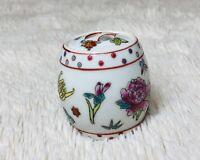 Vintage Jingdezheng Porcelain Trinket / Ginger Jar