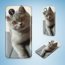 BRITISH SHORTHAIR CAT 19 HARD PHONE CASE COVER FOR NEXUS 5 5X 6 6P