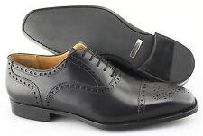 Men's MAGNANNI 'Cieza' Black Leather Cap Toe Oxfords Size US 9 - D