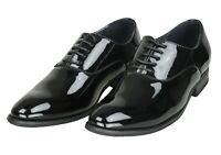 Eleganti scarpe uomo Class nero vernice calzature man shoes cerimonia da 39 a 45