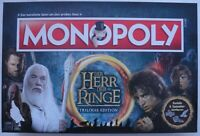 🎁 Monopoly Herr der Ringe 🎁Inhalt Neu & orig. verschweißt (dt) Trilogie Edit.