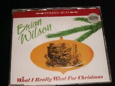 BRIAN WILSON<>WHAT I REALLY WANT FOR CHRISTMAS<>UK, Brand New CD ~ ARISTA RECORD
