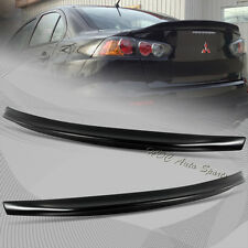 For 2008-2015 Mitsubishi Lancer EVO 10 Black ABS Rear Trunk Duck Lid Spoiler