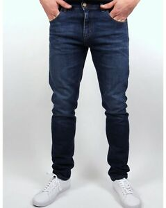 Lois - Sky Slim Fit Jeans in Dark Stone Wash - Blue Bull Tab 80s Casuals