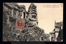 10065-CAMBODIA.INDOCHINE-MILITARY  POSTCARD SAIGON to TONKIN 1913.Cambodge.